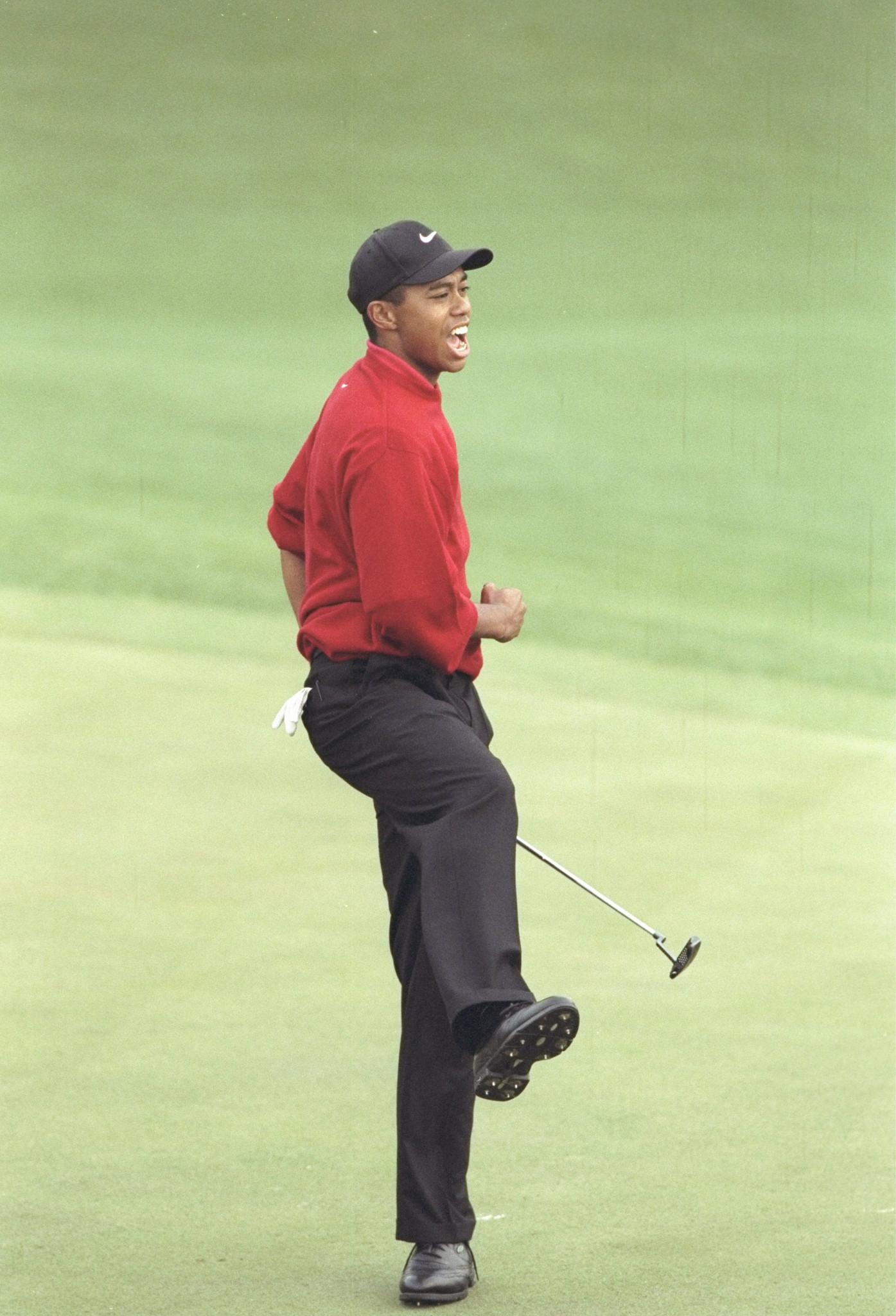 masterful masters  tiger woods u0026 39  1997 majors breakthrough