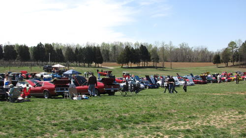 New Kent Winery Muscle Car Show