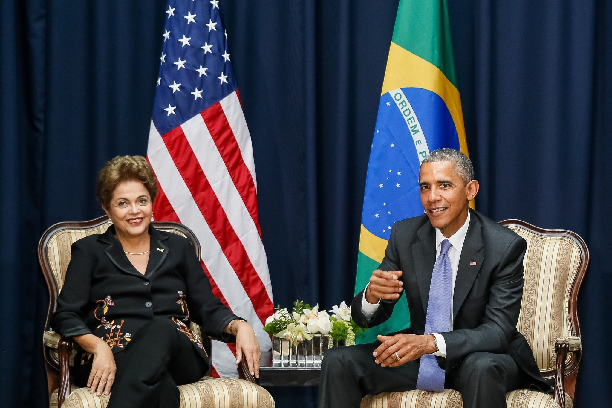 Obama in brazil photos