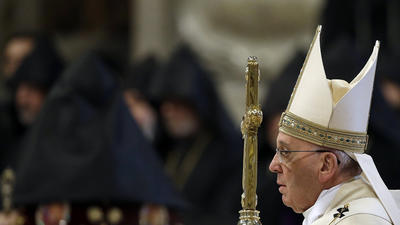 Pope marks Armenian genocide