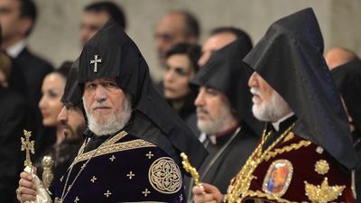 Pope marks Armenian genocide