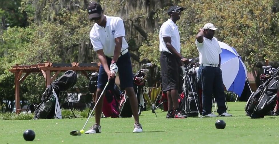 Golf lessons: black kids learn from playing golf - Orlando Sentinel
