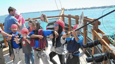 Little pirates learn the tricks of the trade at Pirate Adventures