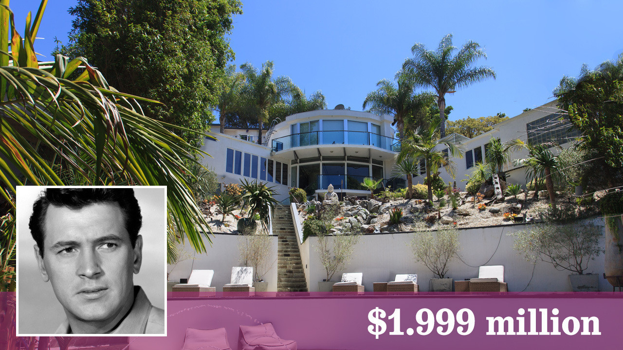Rock hudson connected home lists in hollywood hills la times for Hudson house