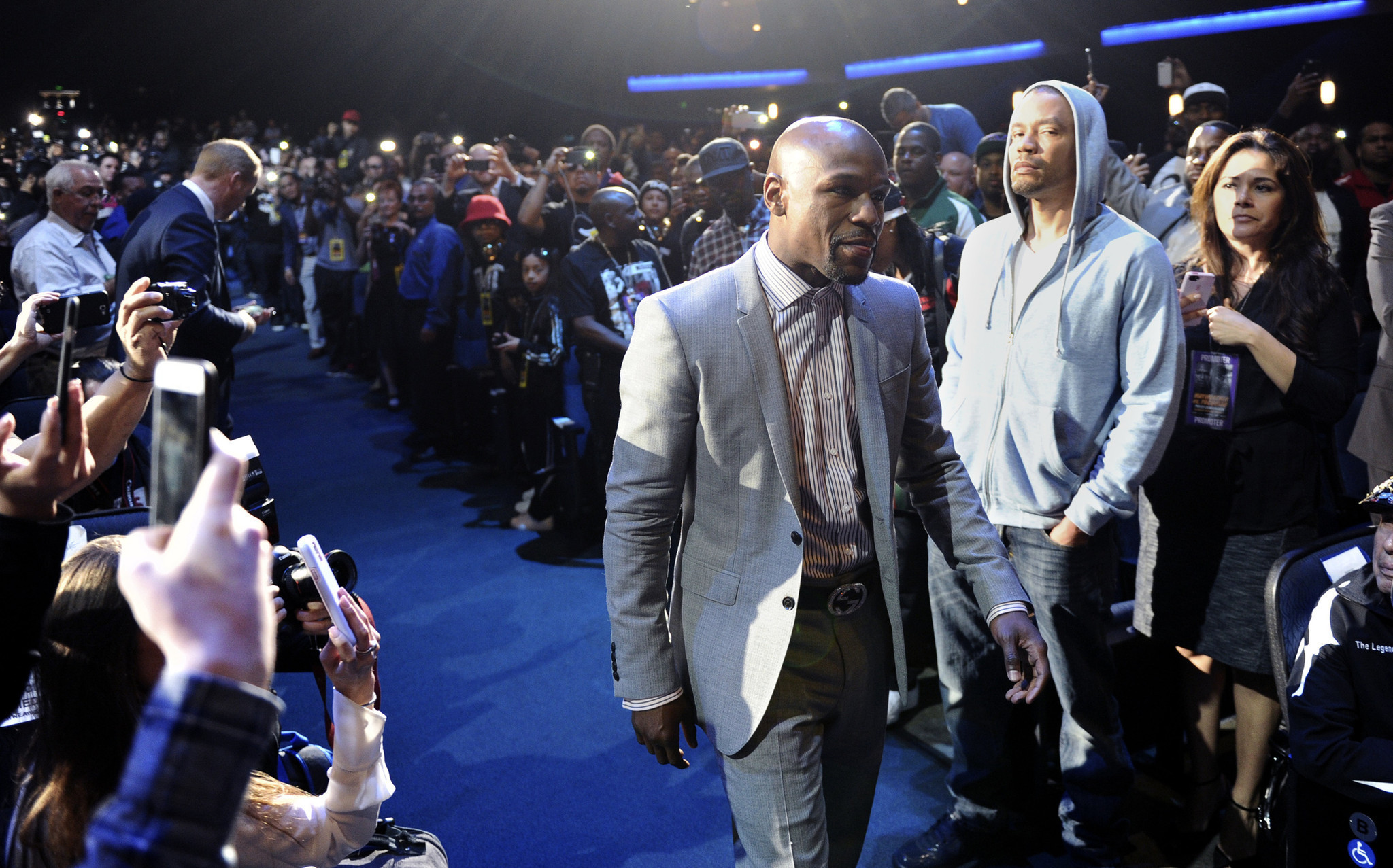 Floyd Mayweather Jr learned more than boxing from his father LA
