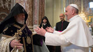 Armenians praise Pope's comments