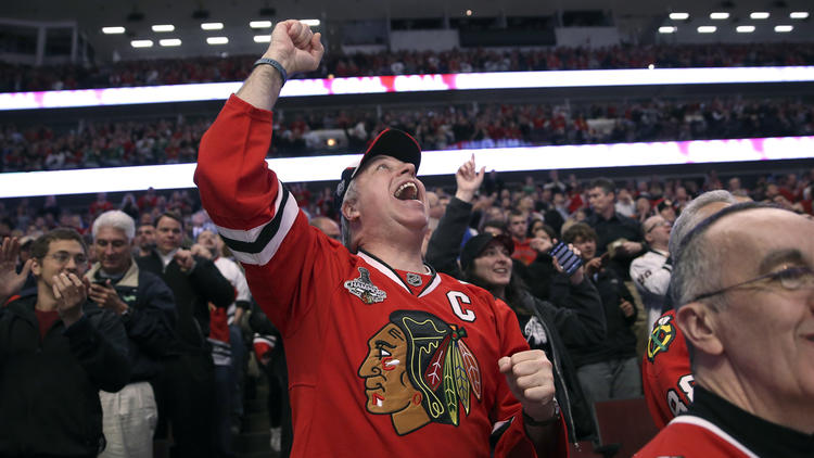 Home Or Away? It Doesn't Matter That Much To Blackhawks