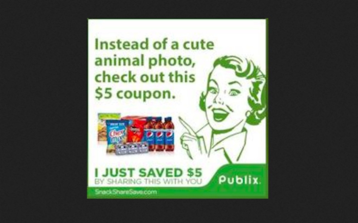 Publix digital coupons policy