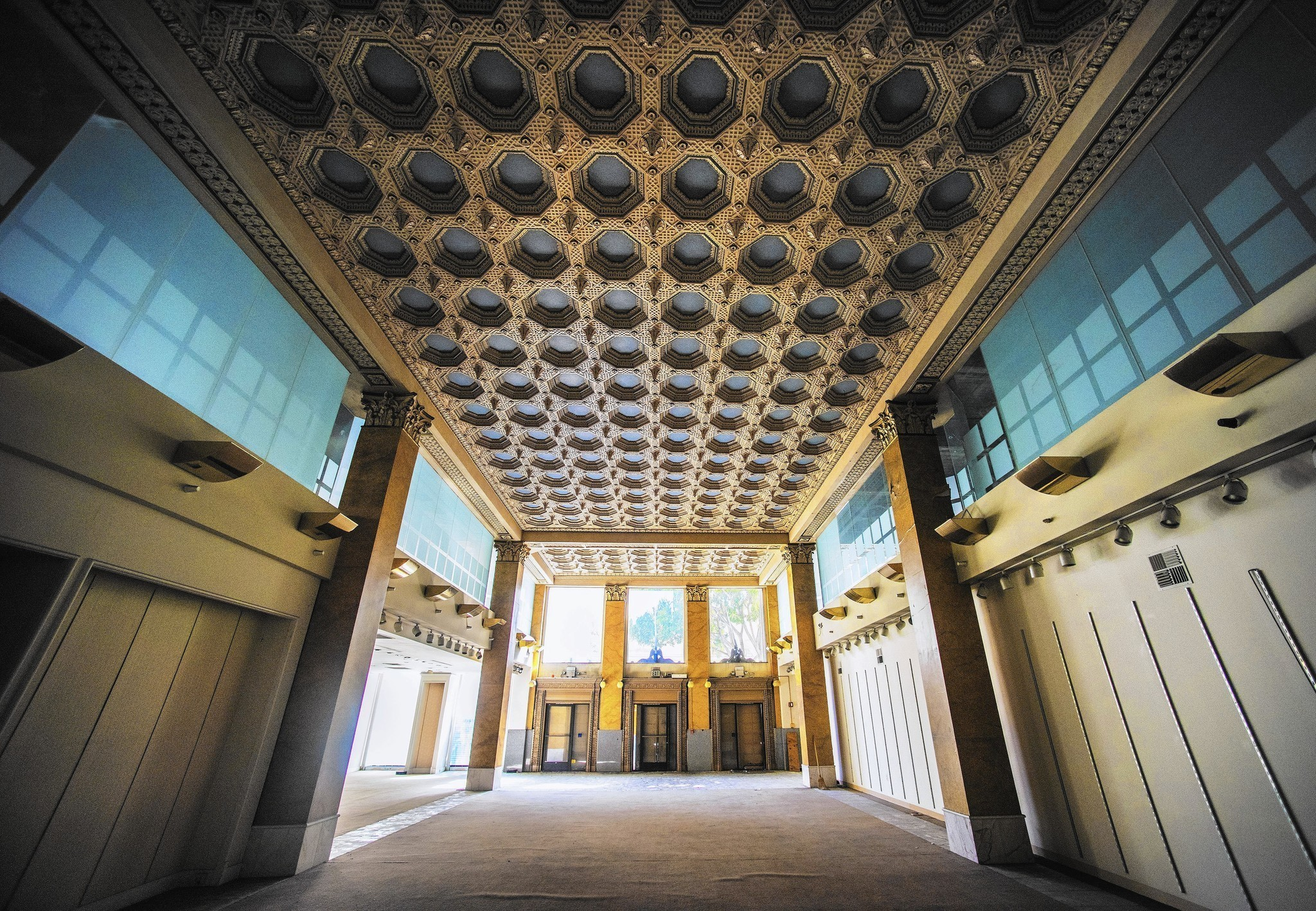 Downtown L A Revival Continues With Remake Of Opulent Giannini Building La Times