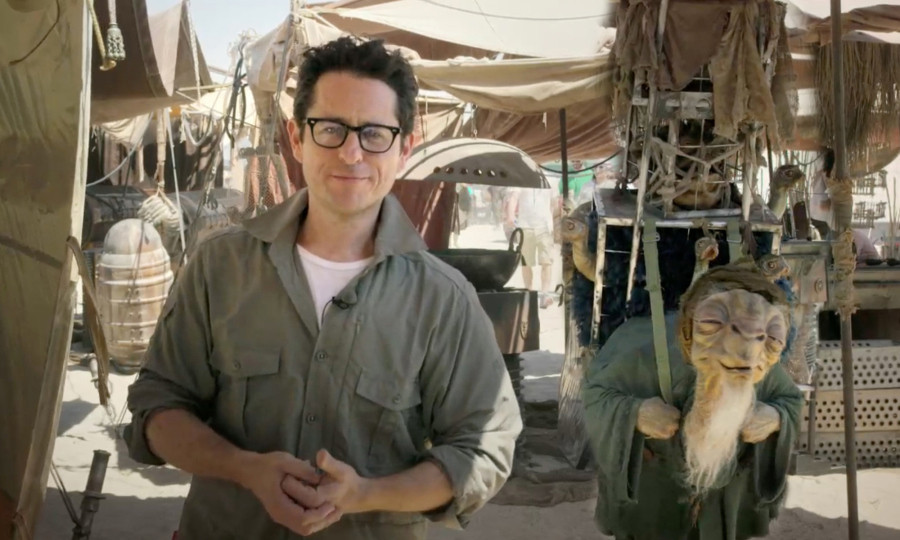 "J.J. Abrams, director of ""Star Wars: Episode VII: The Force Awakens,"" will return to the franchise. (Lucasfilm / Disney)"
