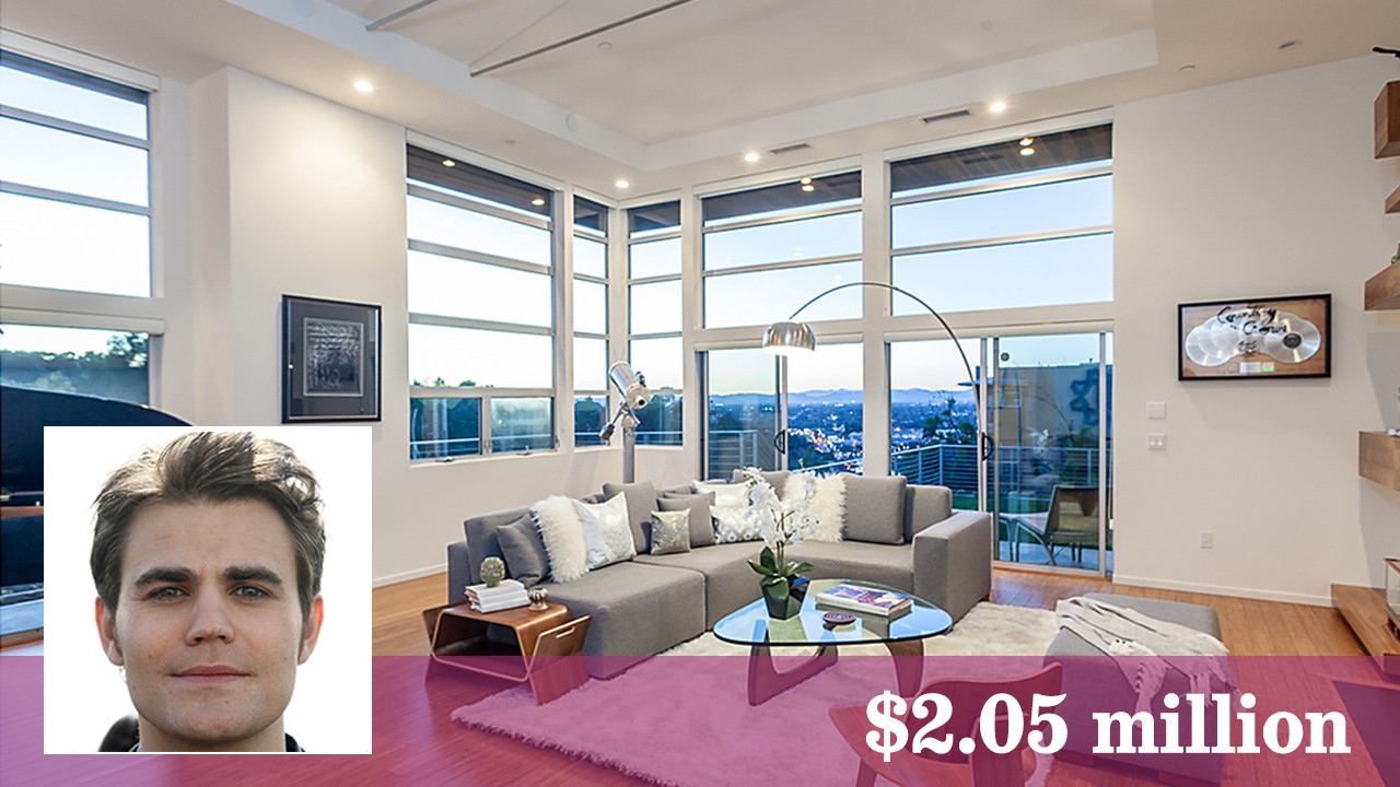 Paul Wesley Snags Studio City Nest From Charles Gillingham
