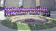 Chamlian students find common ground during Armenia trip