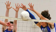 Photo Gallery: Burbank vs. Crescenta Valley league boys volleyball