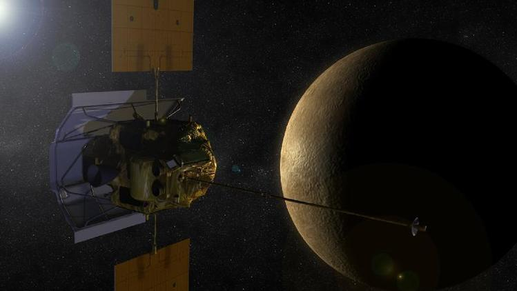 NASA's Messenger and Mercury