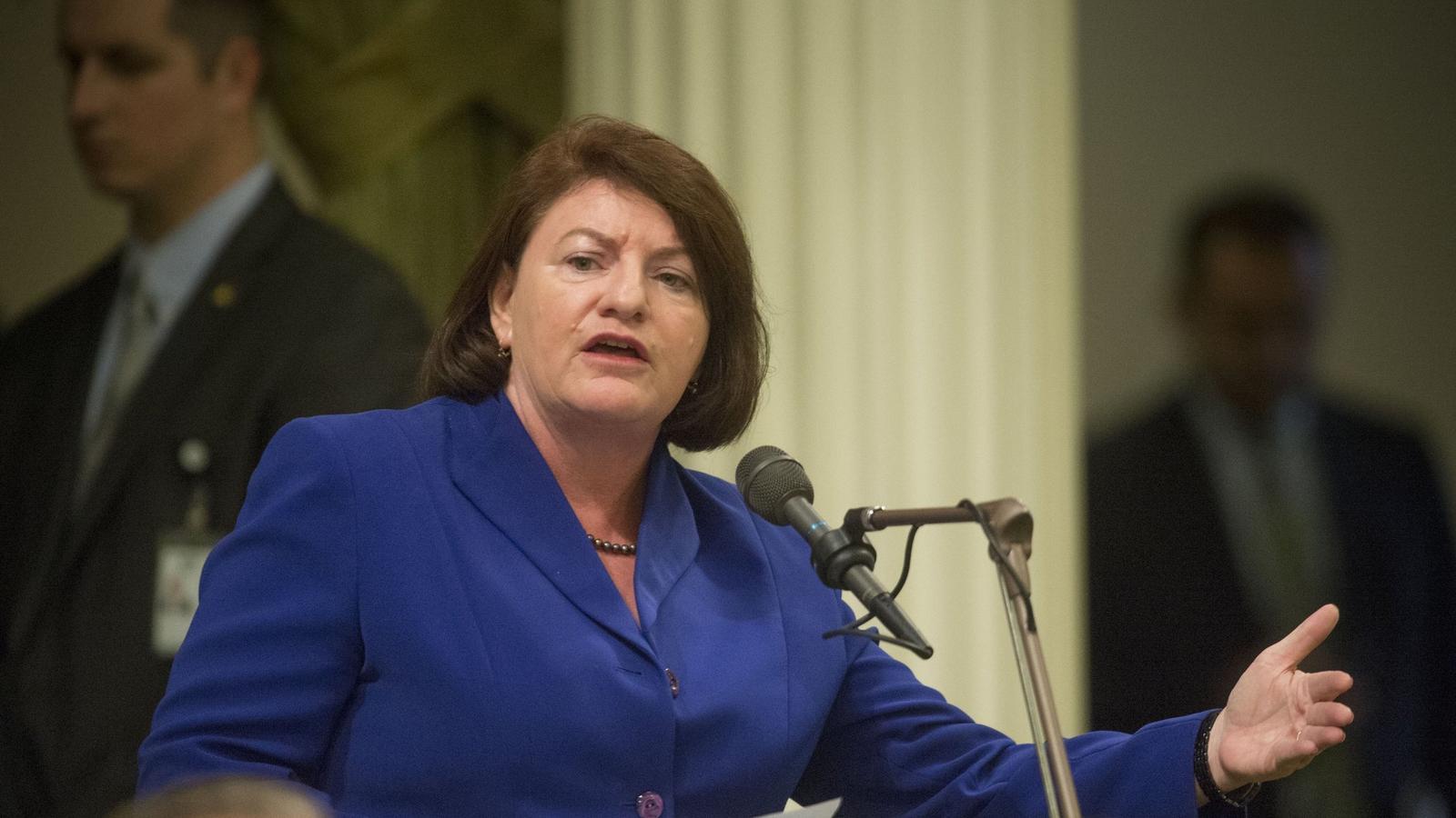 State Sen. Toni Atkins (D-San Diego) (Hector Amezcua / Associated Press)