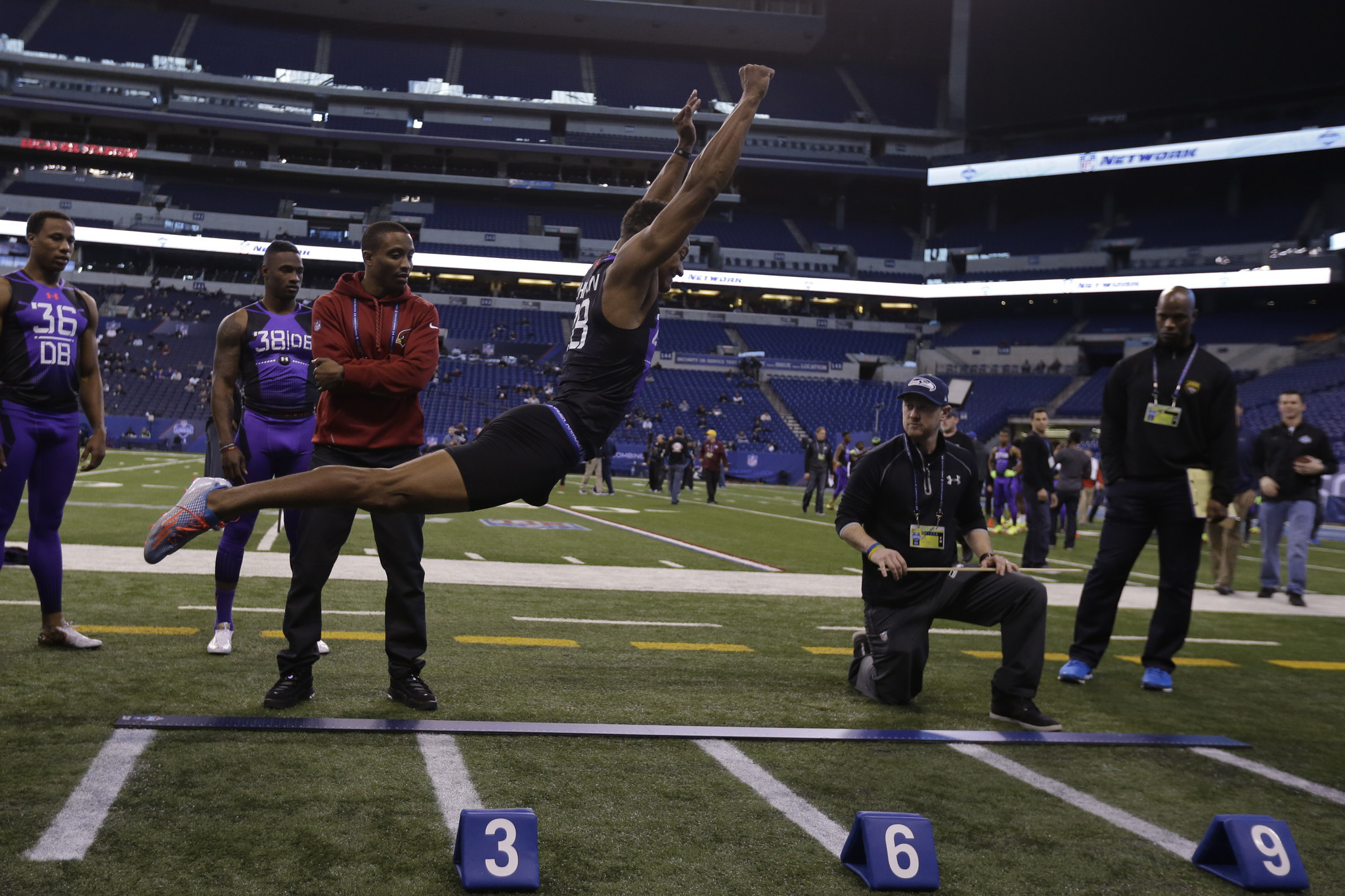 Watch What Can UConn s Byron Jones Jump Over Hartford Courant