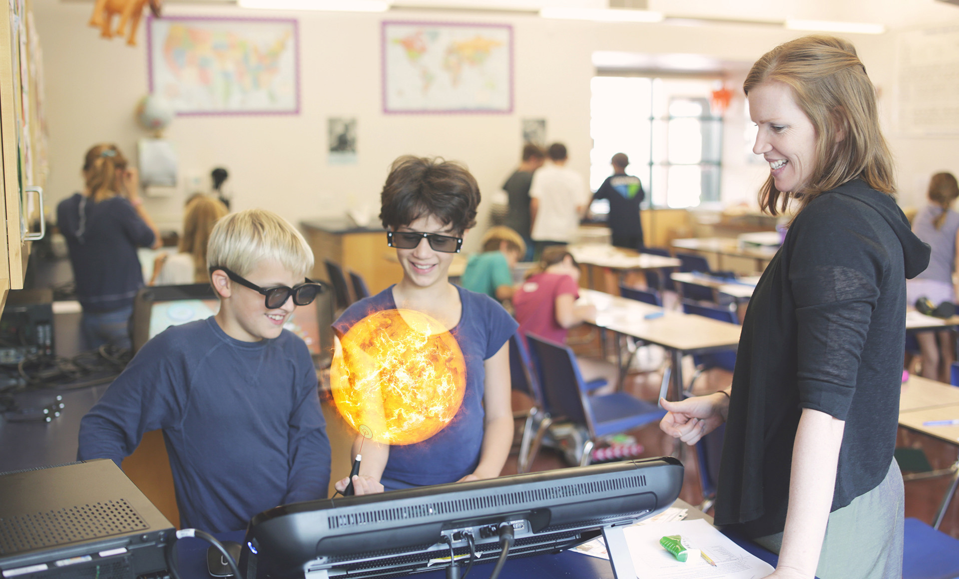 ZSpace virtual reality system makes science class look like 'Iron Man' lab