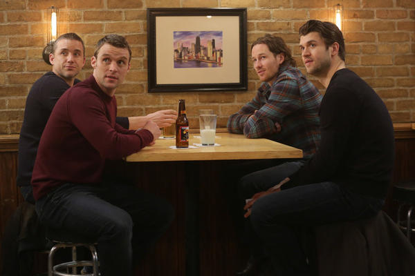 Hawks players on Chicago Fire