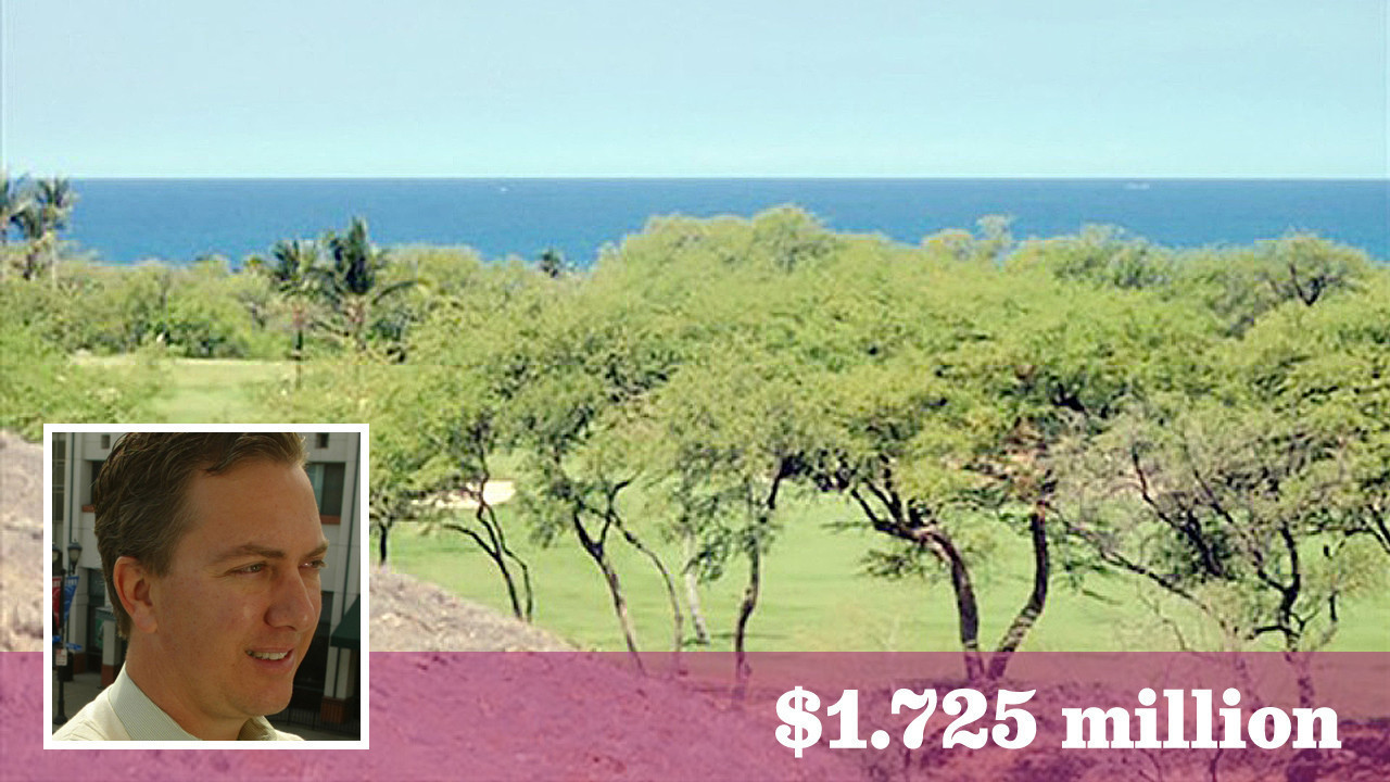 Dwight Manley and George Zimmer cut a deal on the Big Island