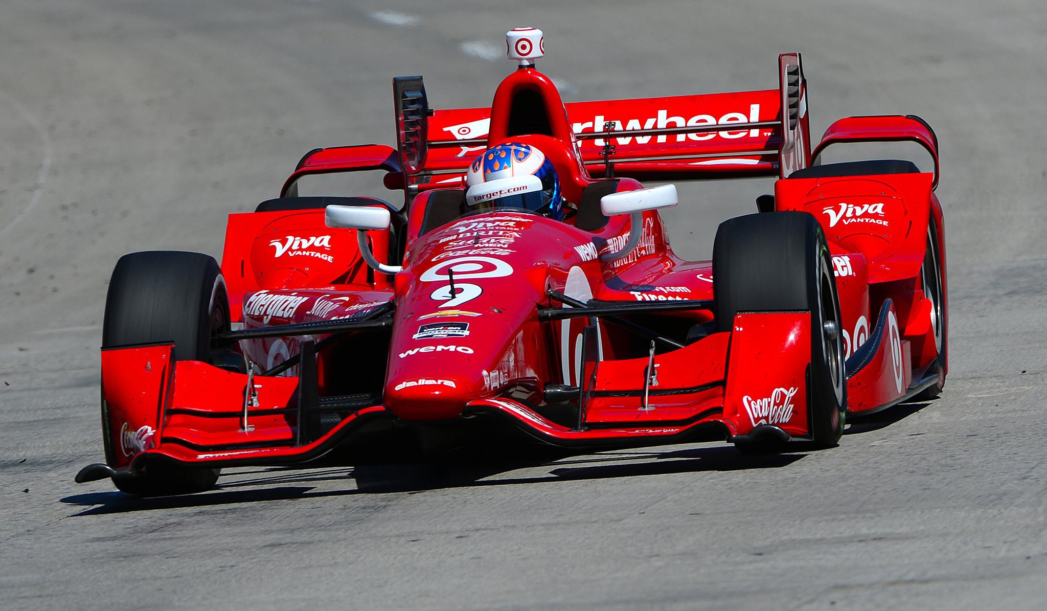 Scott Dixon wins his first Long Beach Grand Prix