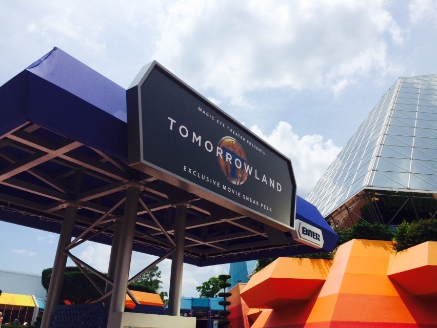 Disney S Tomorrowland Movie Preview Starts At Epcot