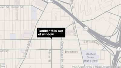 Toddler in critical condition after falling out of second-story window