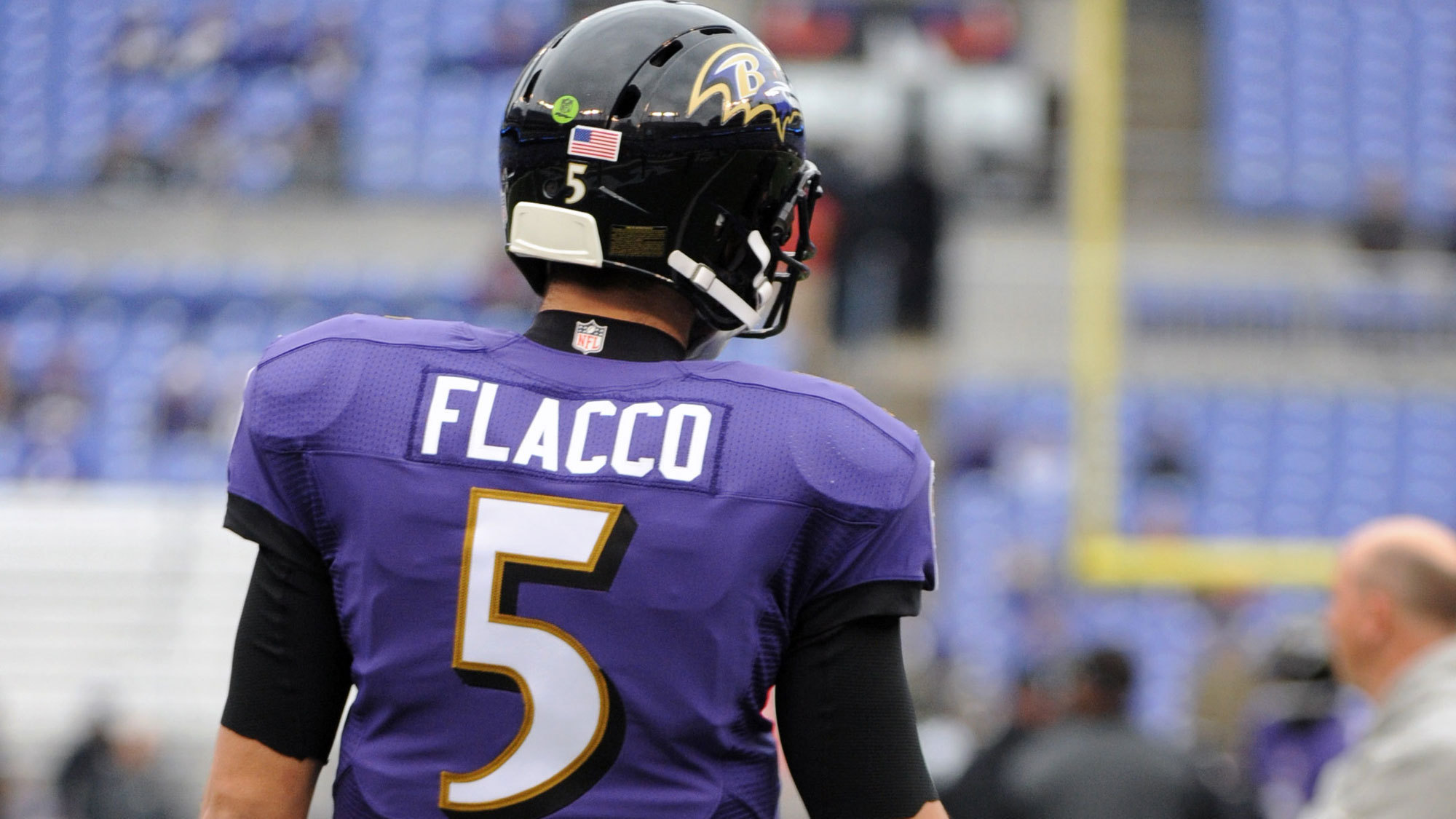 joe flacco football jersey