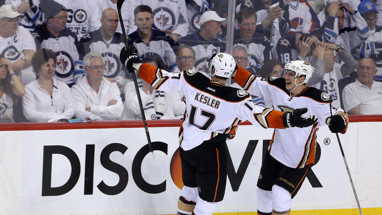 Ducks Bring Late-game Touch To Canada And Beat Jets, This Time In OT