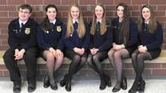 Liberty FFA'ers vie at speaking event