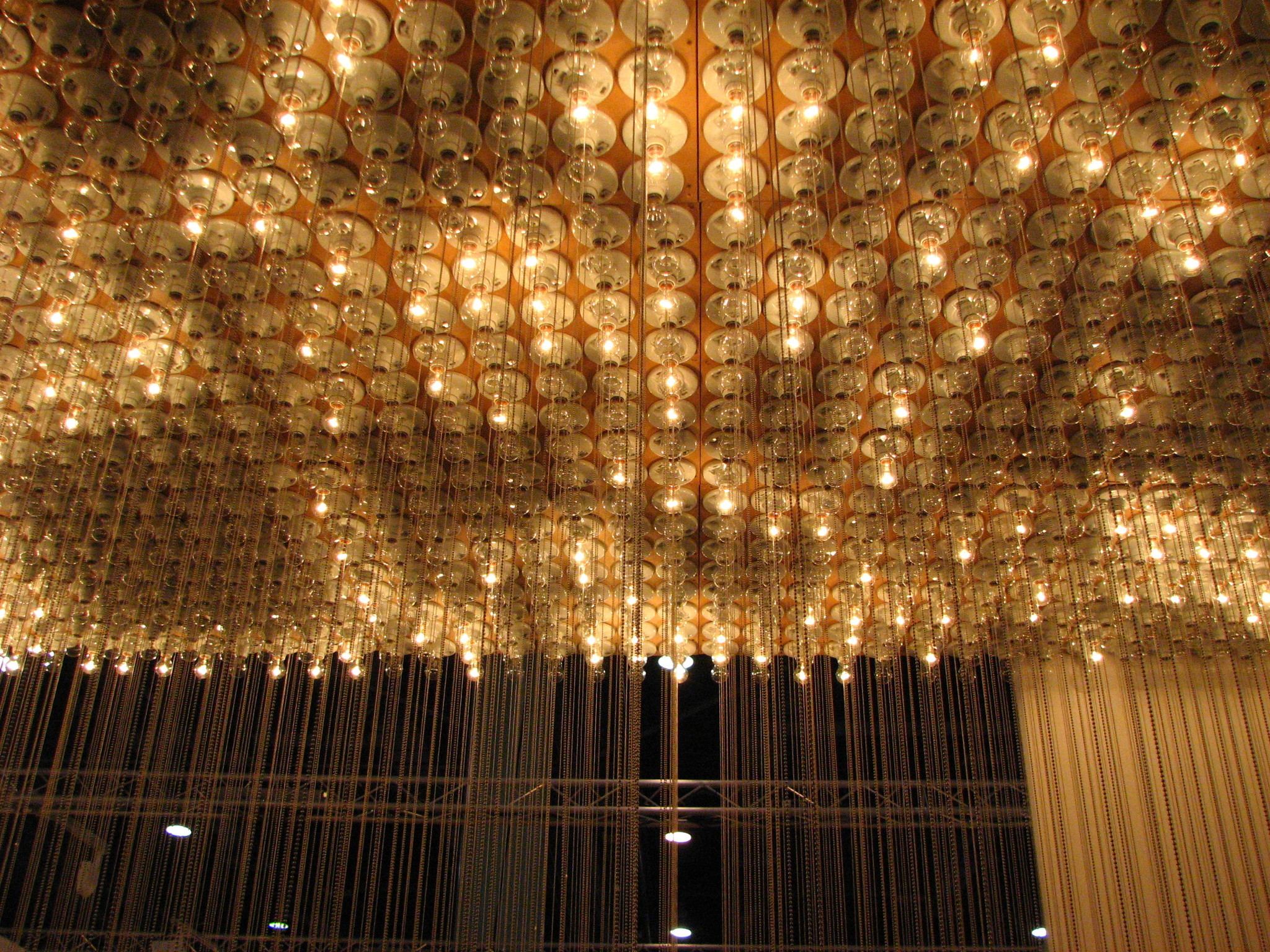 Ceiling light installation