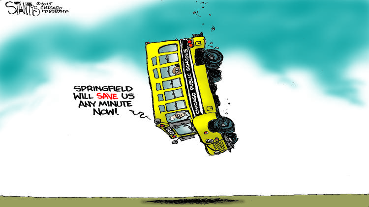 CPS rescue plan: a perfect cartoon – Chicago Tribune