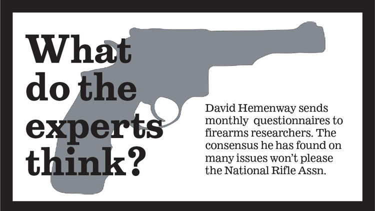David Hemenway's research on guns