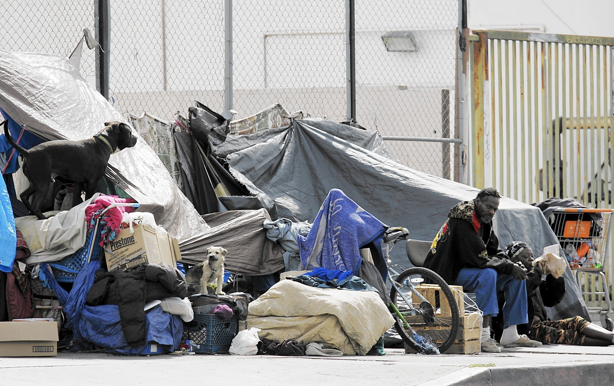 L a city council calls for new plan to get homeless off for Homeless shelters los angeles