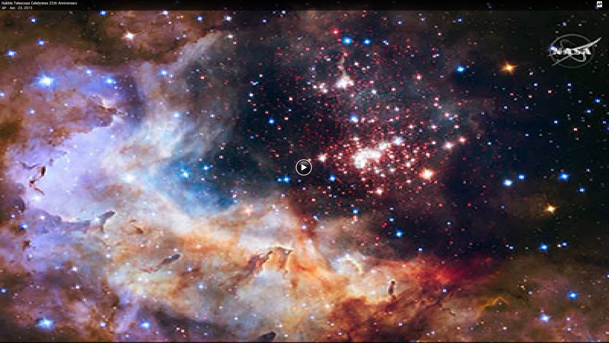 Hubble Telescope celebrates 25th anniversary - Sun Sentinel