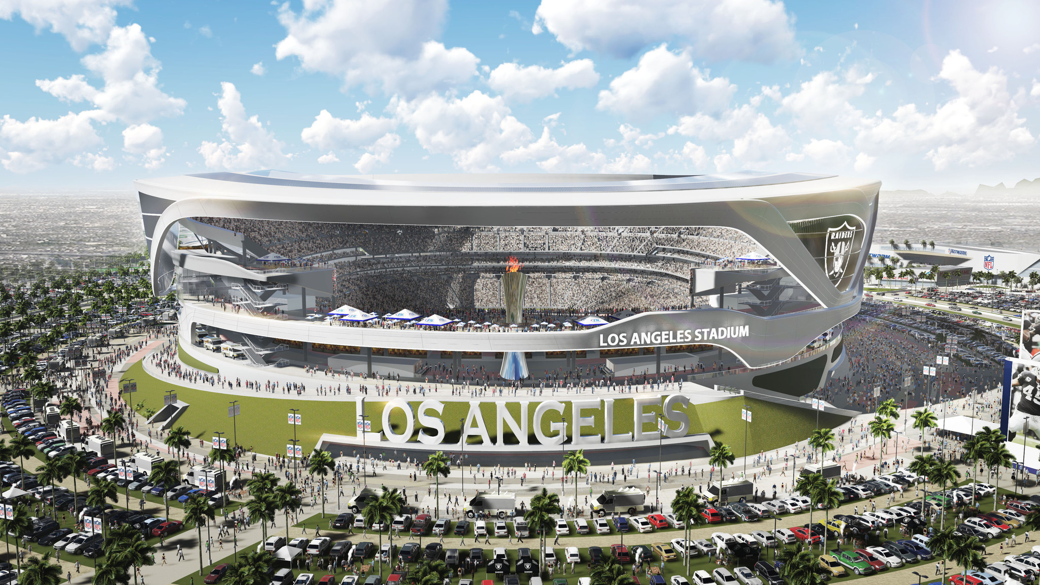 Chargers And Raiders Overhaul Design For Potential L A