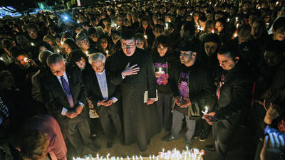 GCC holds vigil to commemorate 100th anniversary of Armenian Genocide
