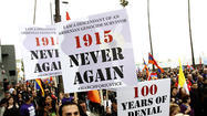 Photo Gallery: March for Justice, 100th anniversary of the Armenian genocide