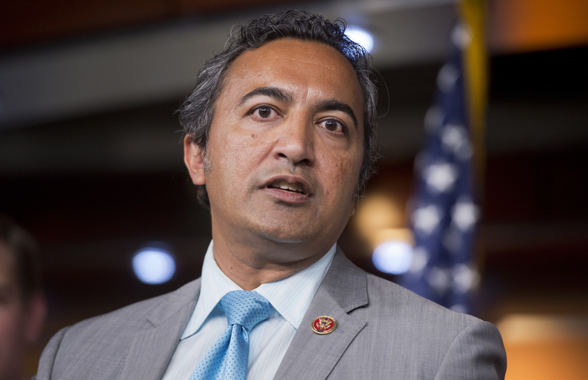 Rep. Ami Bera (D-Elk Grove) says President Trump ought to be censured over his comments about the violence in Charlottesville, Va. (Tom Williams / CQ Roll Call)