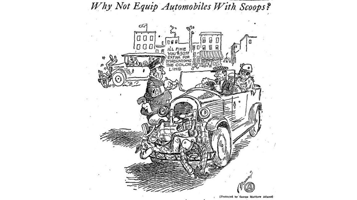 Historic editorial cartoons: L.A. traffic