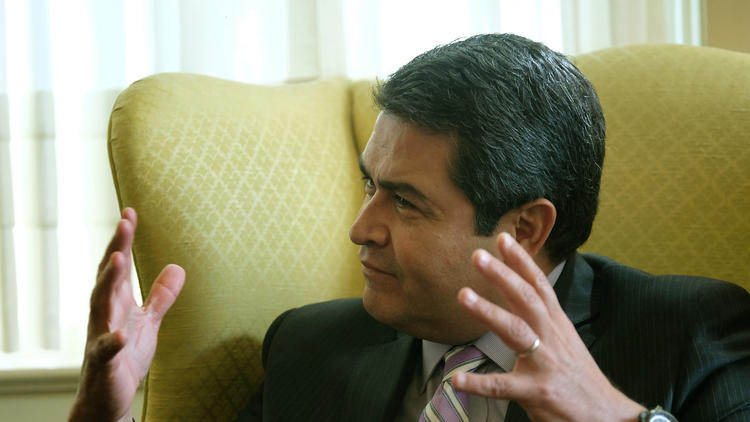 Honduras president calls for peace following re-election