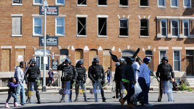 Dozens of Anne Arundel County officers sent to assist in Baltimore protests