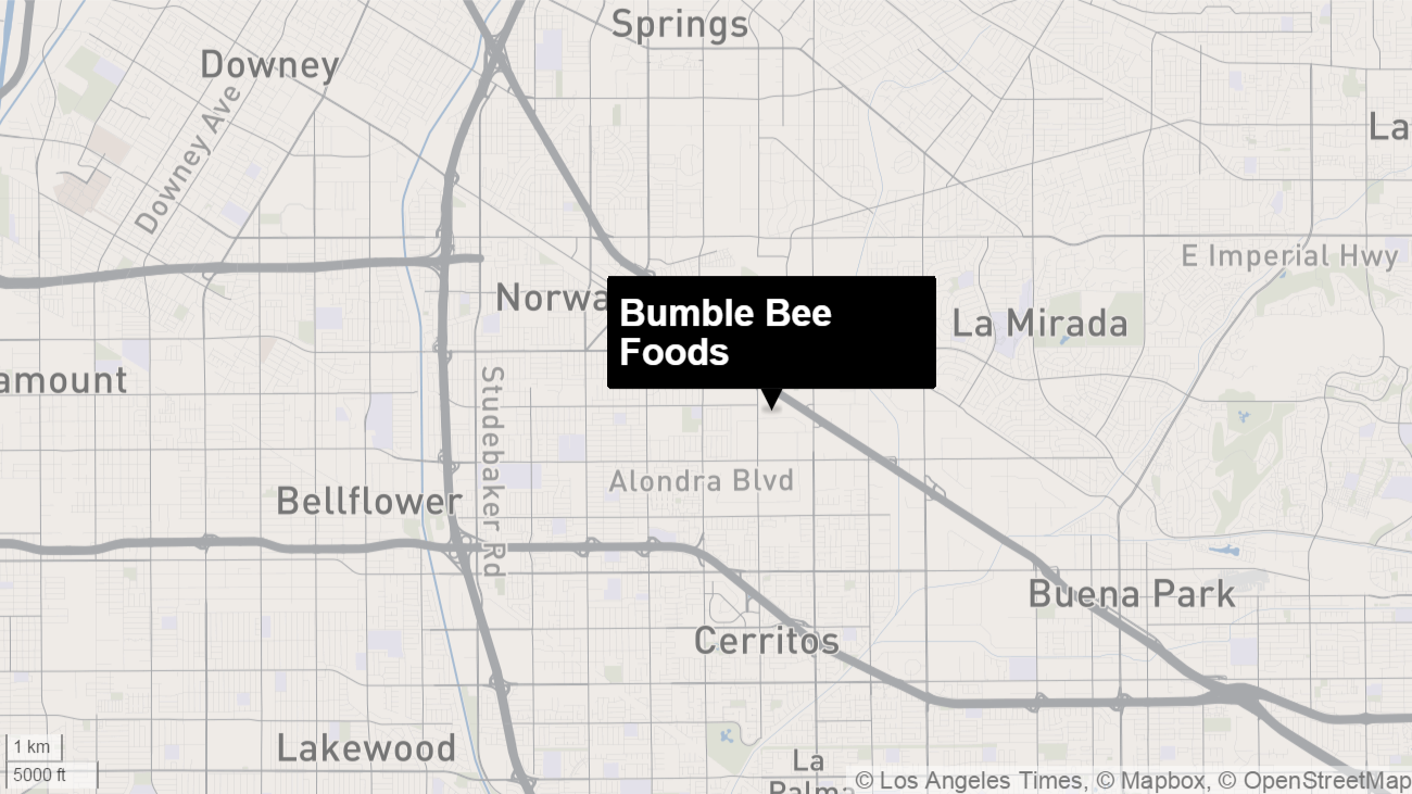 La District Attorney S Office Bumble Bee Foods