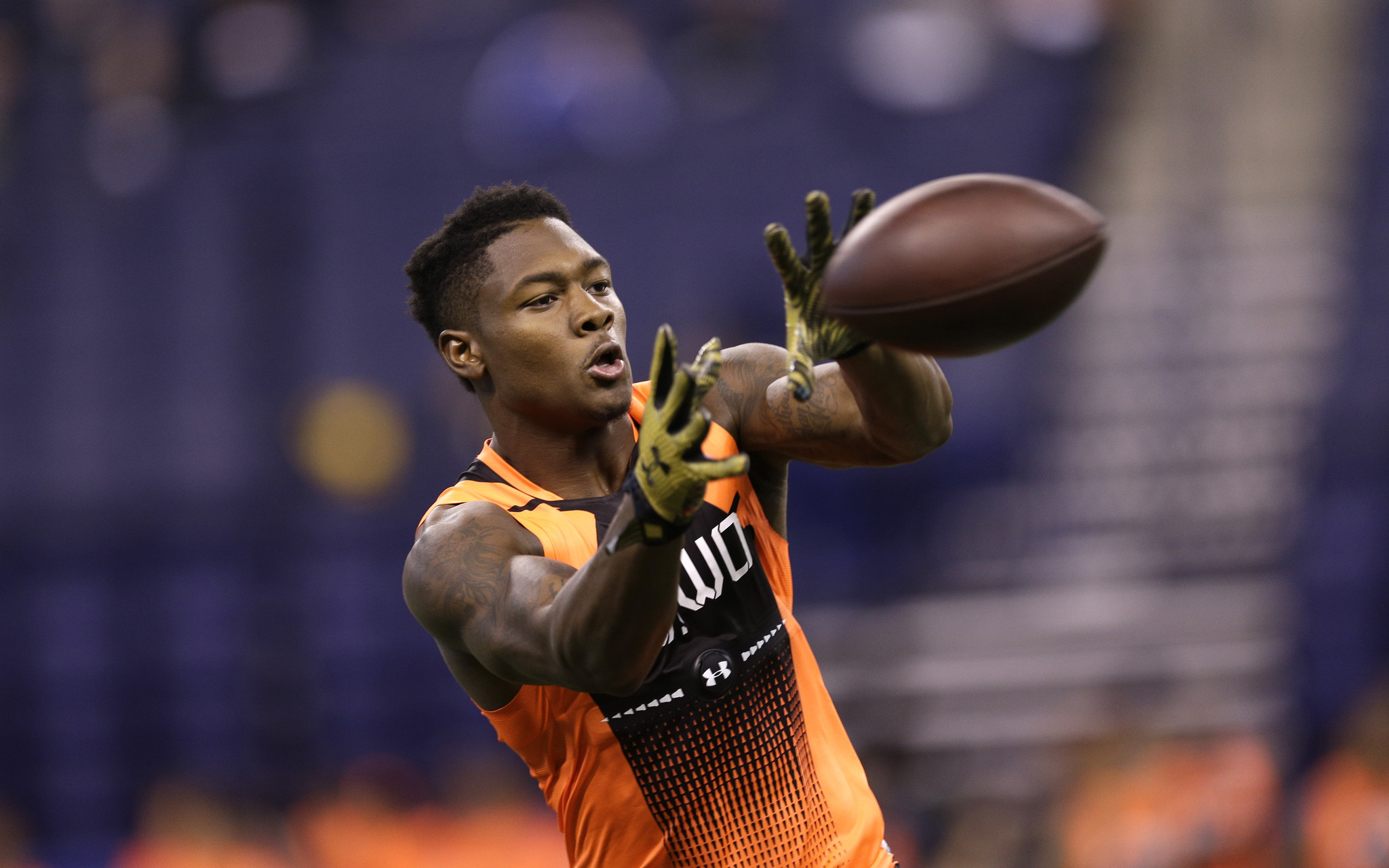 Maryland wide receiver Stefon Diggs¿ moves after catch put him on
