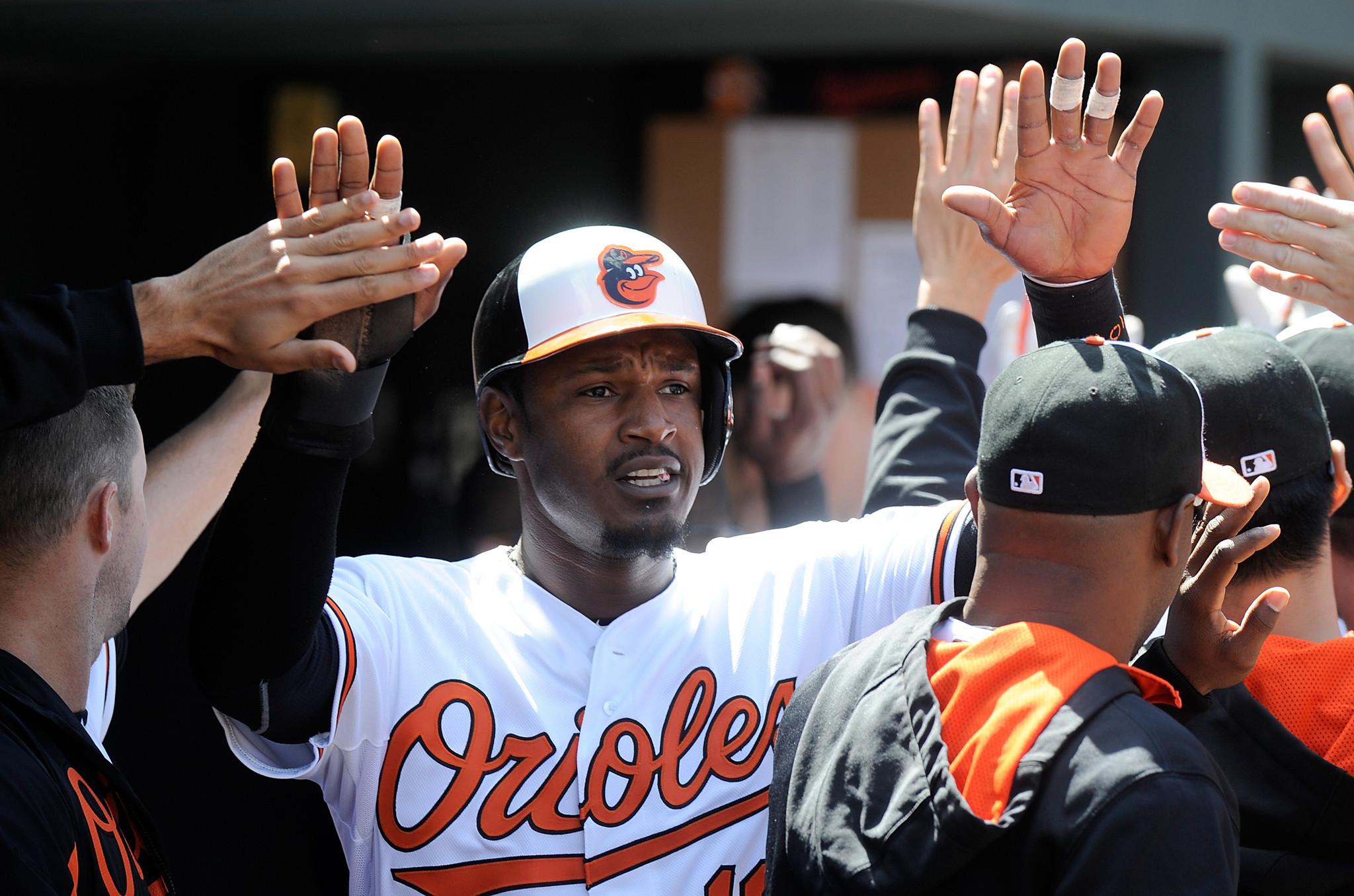Orioles' Adam Jones re...