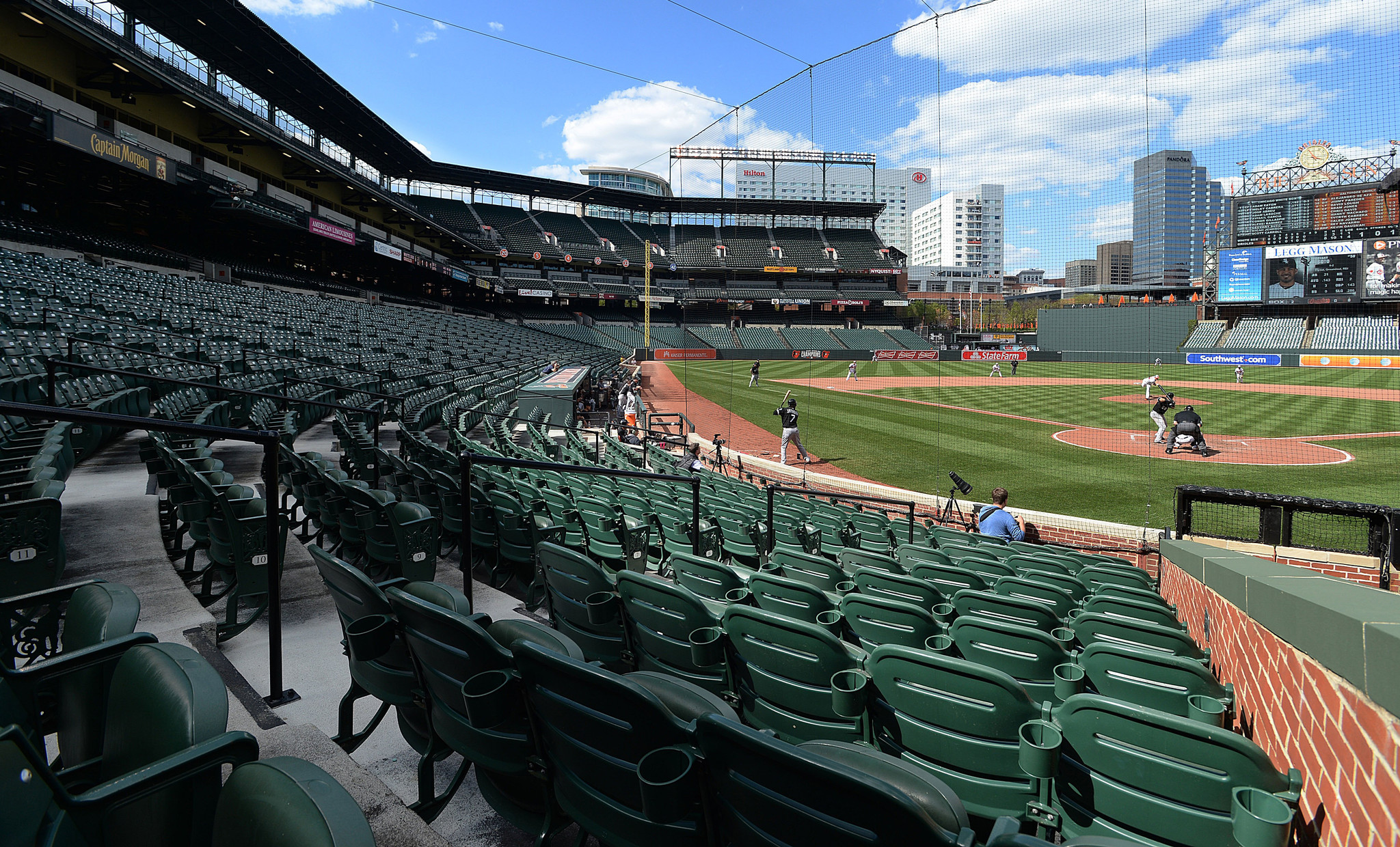 Orioles White Sox Game Baltimore S Urban Stadium Becomes