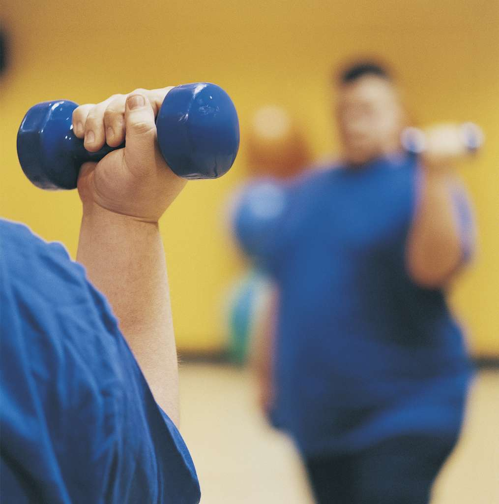 exercise and obesity While frequent exercise is known to fight obesity and improve mental health, as little as 30 minutes of physical activity one or two days a week can have benefits, according to the 2009 gallup-healthways well-being index.