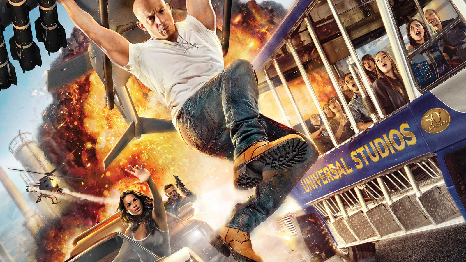 Fast Furious Supercharged At Universal Studios Hollywood