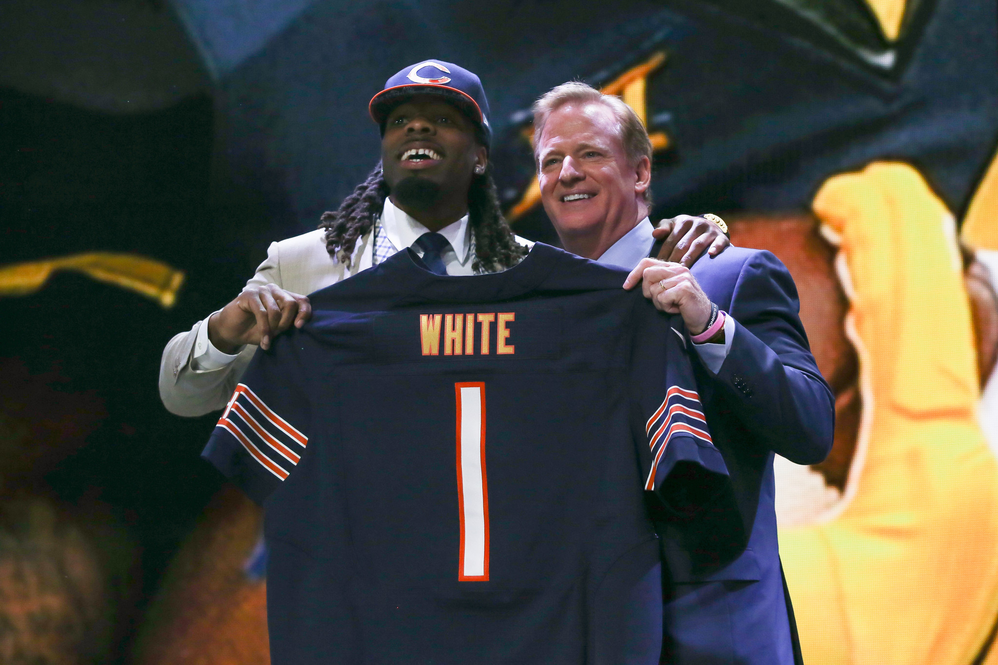 NFL Jerseys Cheap - Emmaus High graduate Kevin White selected by the Chicago Bears in ...