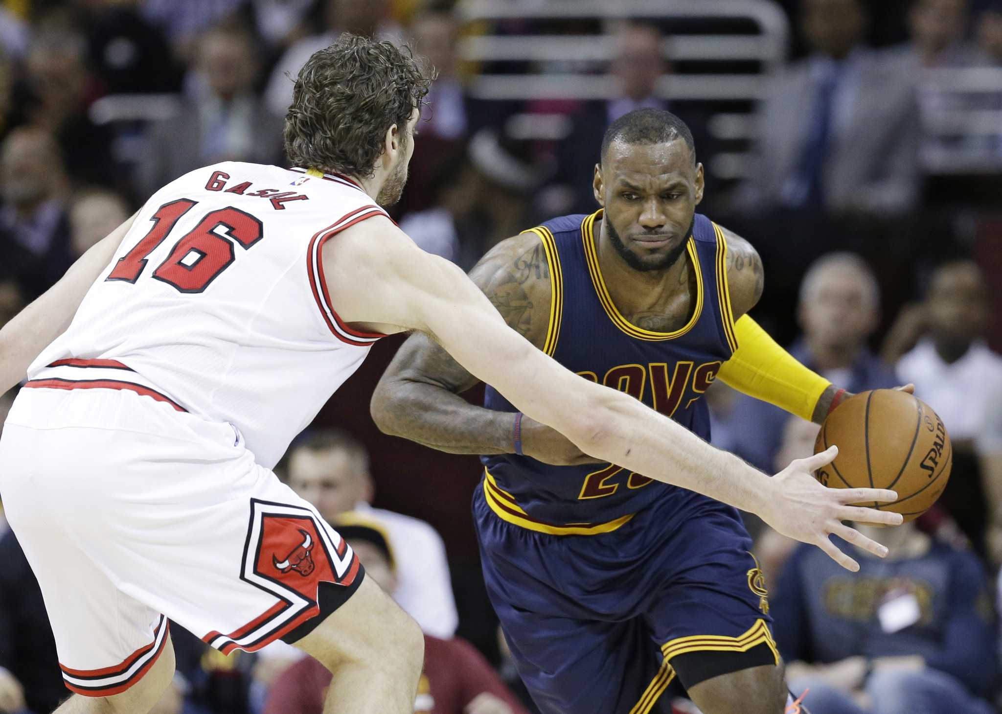 Which Bulls team will show up for Cavaliers series?
