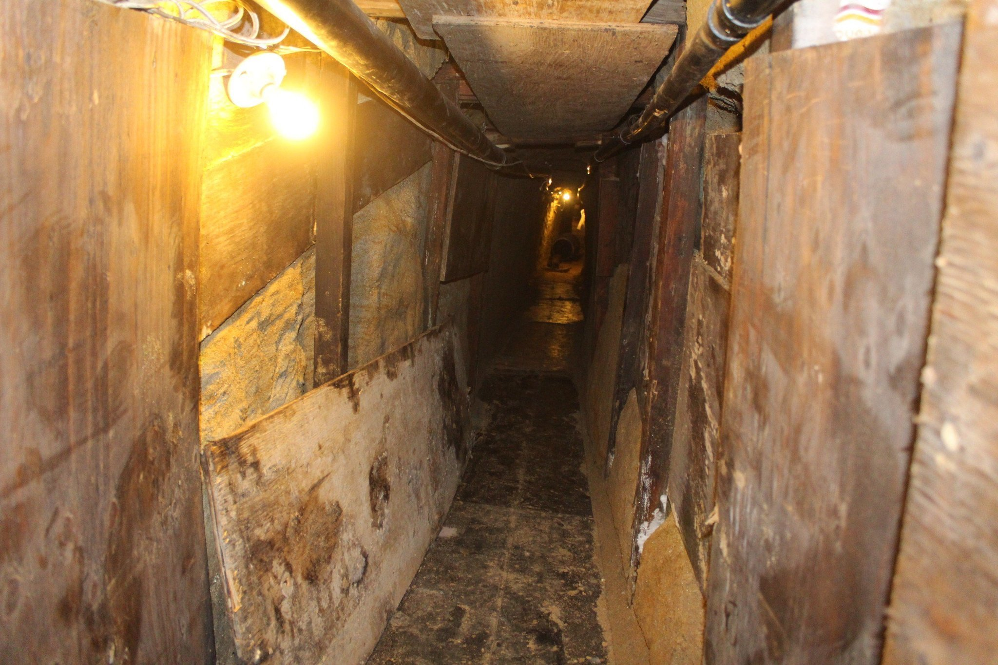 The Ins And Outs Of USMexico Border Tunnels LA Times - San diego us map close to mexico